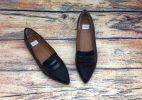 Giày Búp Bê Nữ Xuất Nhật - Đen