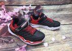 Giày Thể Thao Skechers Baby Nam - Đen Đỏ