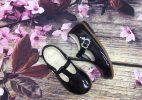 Giày Clarks Búp Bê Bé Gái - Đen