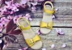Giày Sandal Bé Gái - Vàng